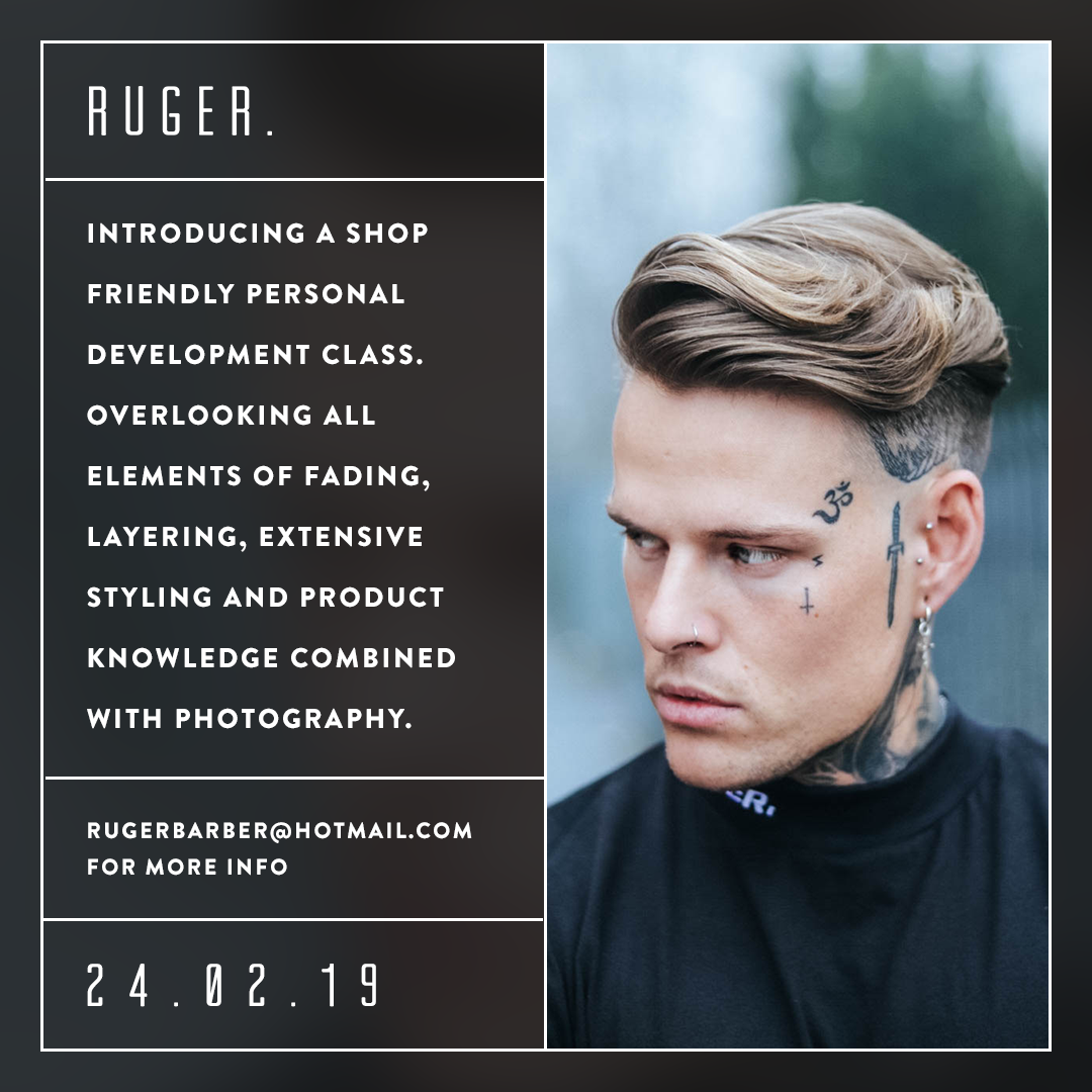 ruger barbers in tameside, education courses