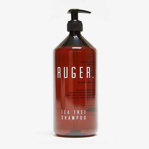 RUGER . Tea Tree Shampoo - 1ltr